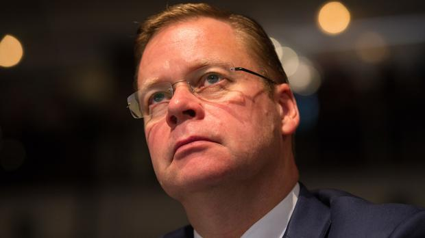 Centrica chief executive Iain Conn said the first half of the year had been 'demanding' as total revenue fell 13% to 13.3 billion pounds