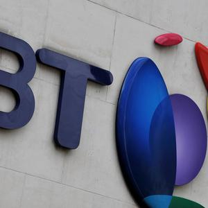 BT reported a rise in earnings and profits