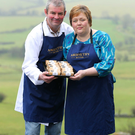 Will and Allison Abernethy from Abernethy Butter in Dromara