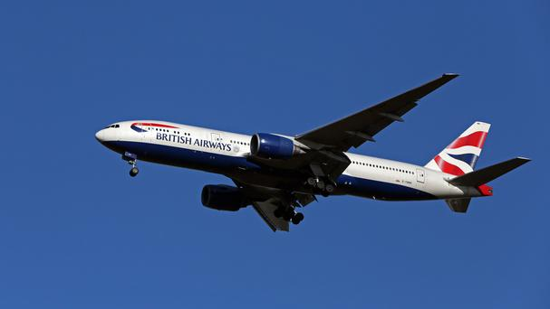 British Airways said it was experiencing lower demand for flights