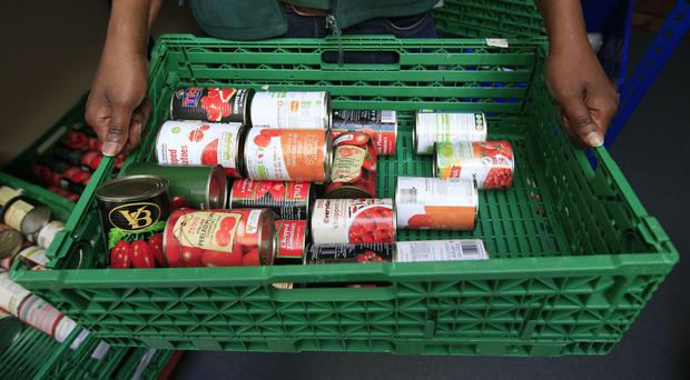 Food banks are one indicator of the problem of poverty