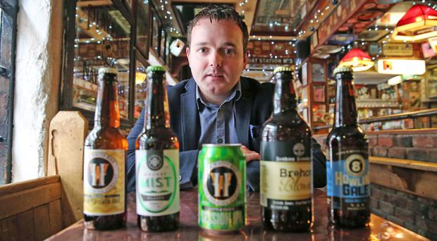 Liam Brogan, one of the men behind Ireland Craft Beers