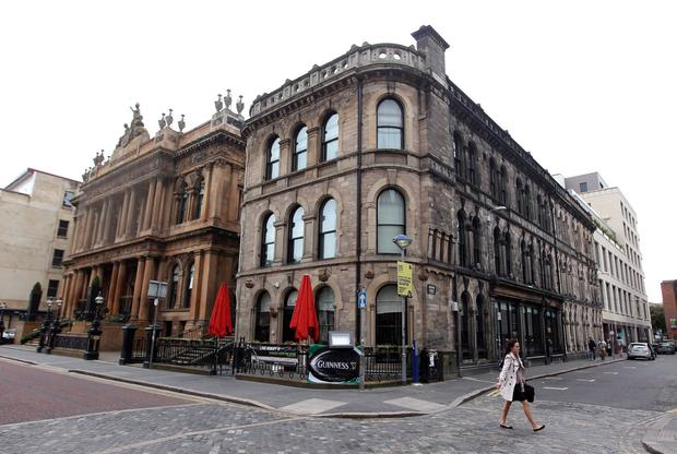 The Merchant Hotel in Belfast