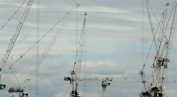 Figures show a downturn for the construction industry