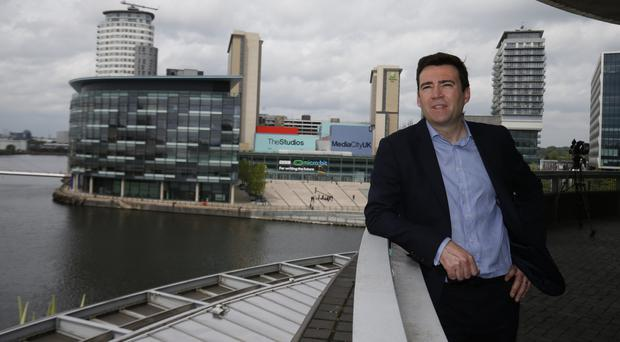 Andy Burnham said scrapping the Northern Powerhouse would be the biggest betrayal of people in the North of England since the 1980s