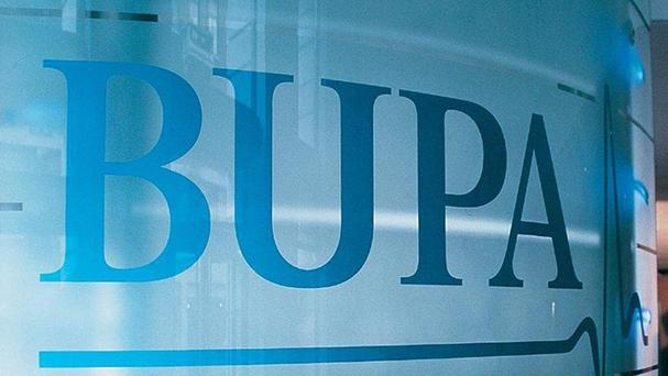 Bupa profits fell as a result in a drop in gas and oil revenues and a one-off charge