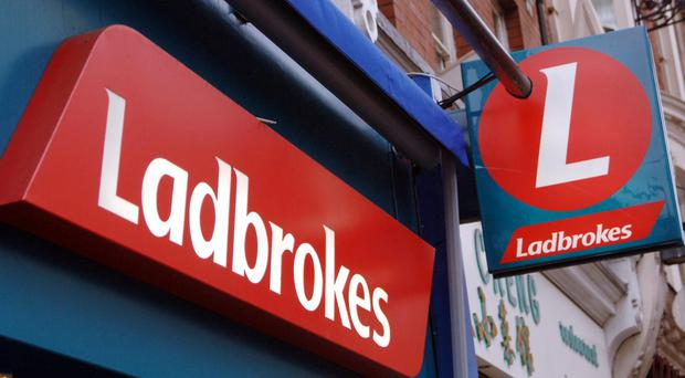 Revenue rose 12% to 661.8 million pounds as Ladbrokes recovered from what it called the worst Cheltenham Festival 'in living memory'