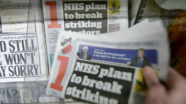 Last month, Johnston Press said that sales of its i newspaper were soaring following Britain's decision to quit the EU