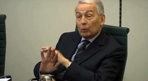 Frank Field is seeking to turn the heat up on former BHS owner Sir Philip Green