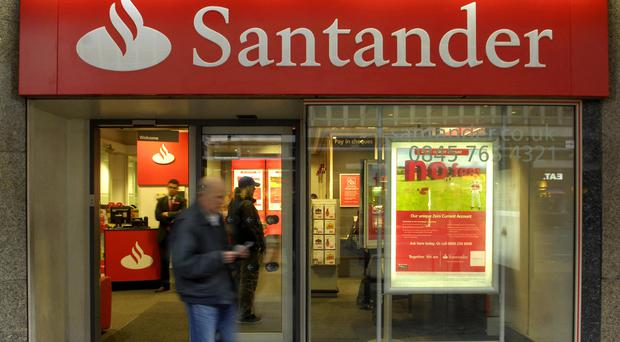 About 4% of Santander's UK staff are Europeans who have come to work in Britain from across the EU