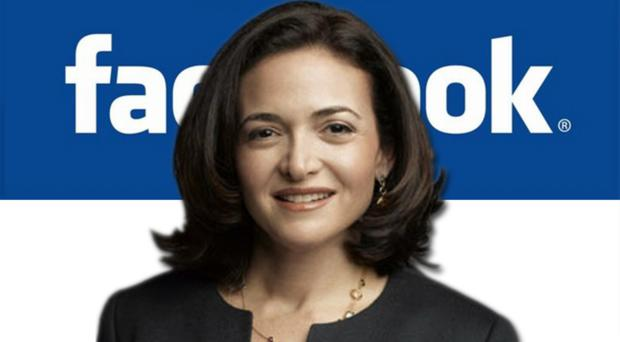 Facebook chief Sheryl Sandberg