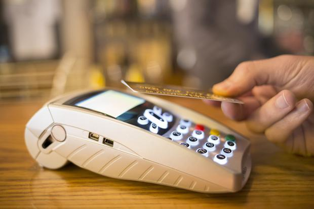 Shoppers have been warned over scams with contactless card readers
