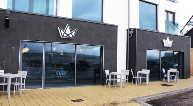 The new coffee shop at Portstewart promenade welcomed 400 people through its doors on its opening day
