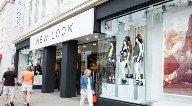 New Look blamed 'unfavourable market conditions' for the drop in sales