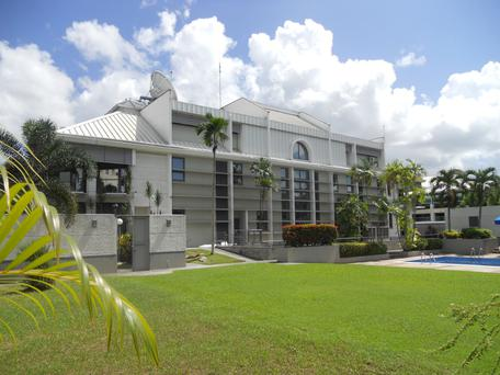 Gilbert-Ash projects include The British Embassy in Port of Spain in Trinidad and Tobago