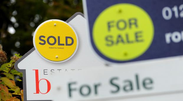 House prices are being slashed by sellers, new figures show