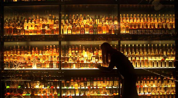 Visitor numbers to whisky manufacturers in Scotland have jumped by 20% since 2010