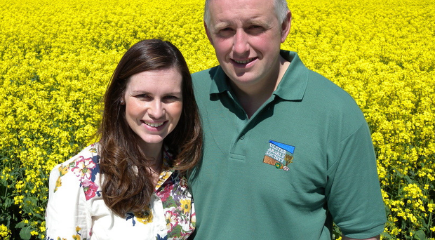Limavady farmers Leona and Richard Kane