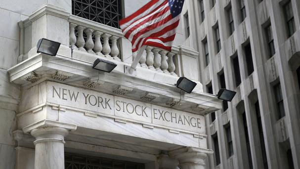 The Dow Jones industrial average fell 37.39 points, or 0.2%, to 18,495.66