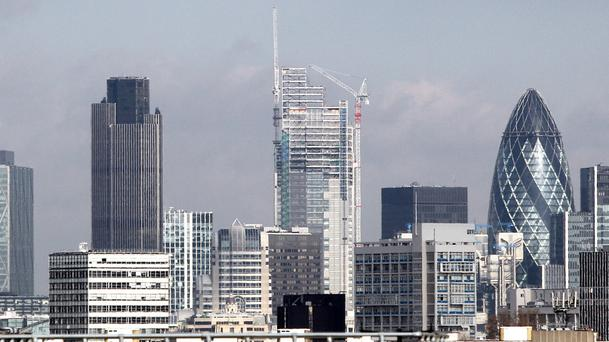 A study from property giant CBRE found the amount of office space leased in London jumped 24% month-on-month in July