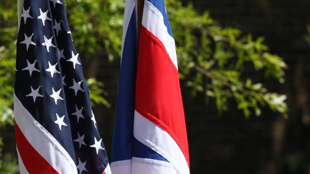 The UK invested 449 billion US dollars (£346 billion) in America at the end of 2014, figures showed