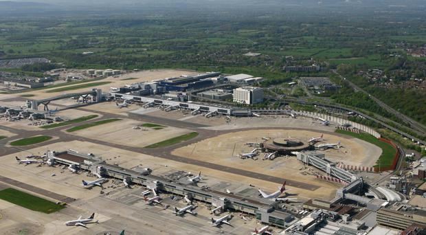 Gatwick Airport in Crawley, West Sussex