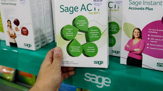 Sage is a FTSE 100 firm