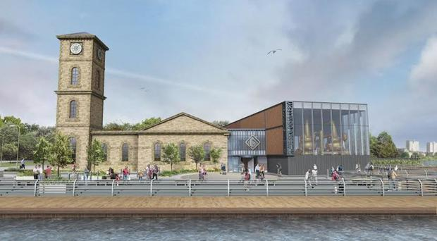 An artist's impression of the Clydeside Distillery (PA/Clydeside Distillery)