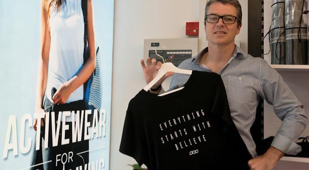 OMMactive's Mel Boyle is hoping to tap into the lucrative market for fitness clothing