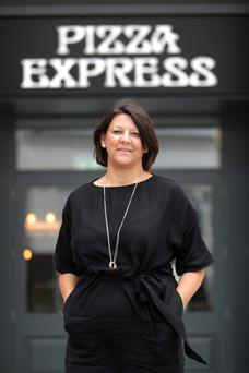 Pizza Express's Fermanagh-born operations director Zoe Bowley