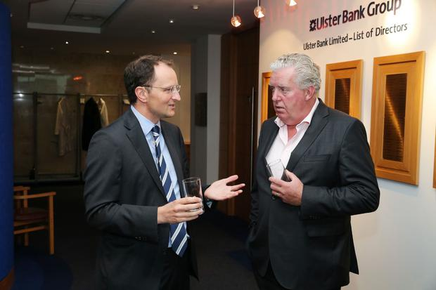 William Barnett (W&R Barnett) and Brian McConville (MJM Marine) attended the dinner with Dr Liam Fox