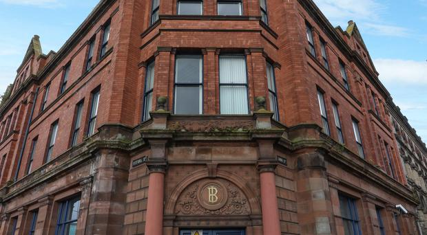 Laganview House is on sale for £1.25m, but restaurant Ox, on the building's ground floor, is not part of the sale