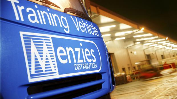 Menzies Distribution is one part of the company.