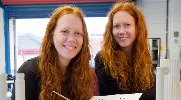 Claire and Karen Gibson's firm was backed by The Prince's Trust