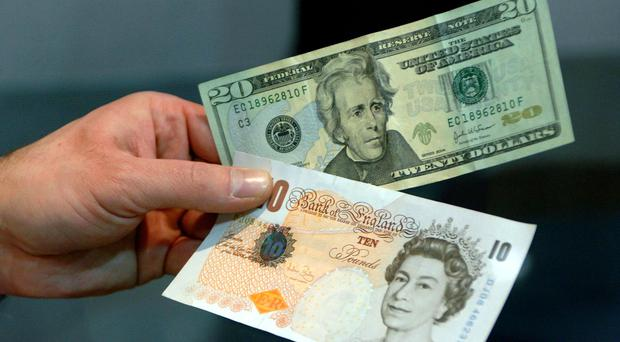 Sterling was trading 0.85% higher at 1.32 against the dollar