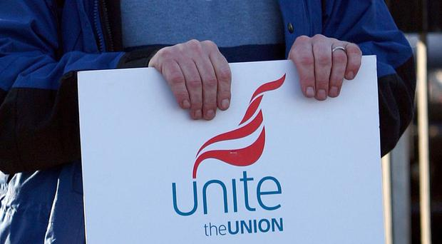 Unite is staging a protest in the capital on Tuesday to highlight its complaints