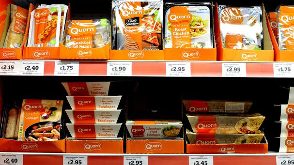 Meat-free producer Quorn said Brexit has helped boost exports