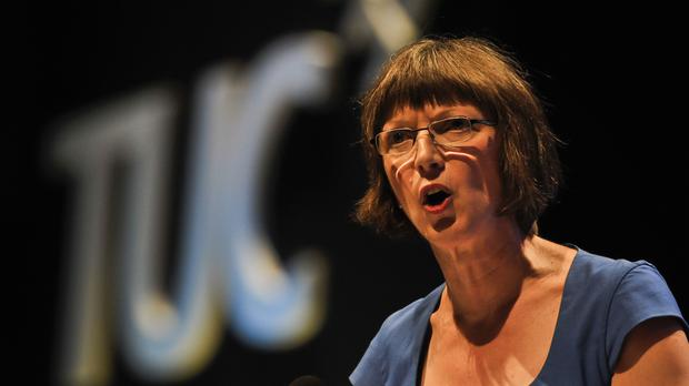 TUC general secretary Frances O'Grady said that families 'can't continue relying on credit cards and loans to get by'