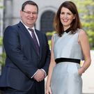 Announcing the expansion plans at the firm's St Anne's Square location are Maurece Hutchinson (right), managing director, and chairman Jonathan McKeown