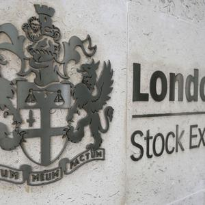 The FTSE 100 Index was off 32.73 points to 6,835.78