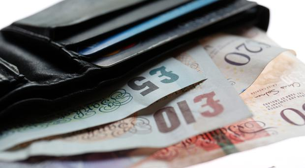 Pay rises are still running ahead of inflation, a report shows