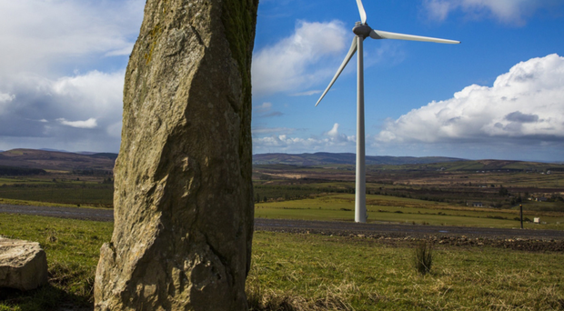 One of Gaelectric's wind farms