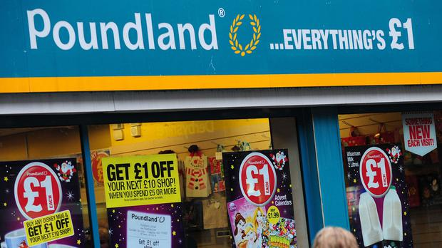 Poundland has seen a rise in first-time shoppers at its stores