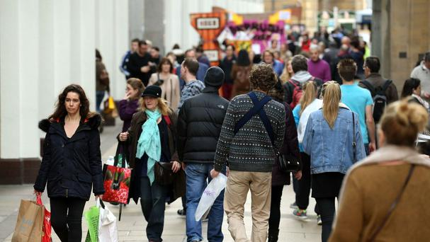 Consumer confidence has seen its highest monthly bounce since February 2013, according to one survey