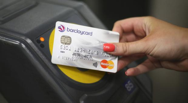 More and more people are using contactless instead of carrying change.