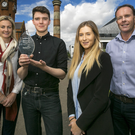 From left: Sinead O'Sullivan, chief executive Fusion Space Technologies; David Hatton, Connect Young Founder 2016 winner; Holly Millar, Connect Young Founder programme manager, and Danny McConnell, technology consulting partner at Deloitte