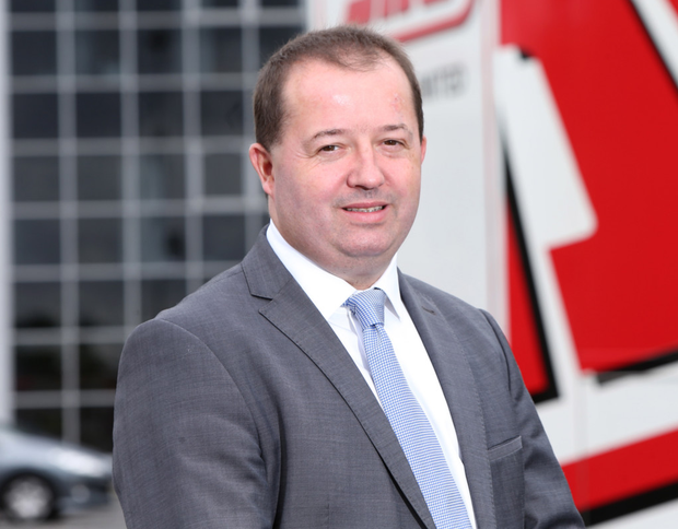 SDC Trailers chief executive Mark Cuskeran
