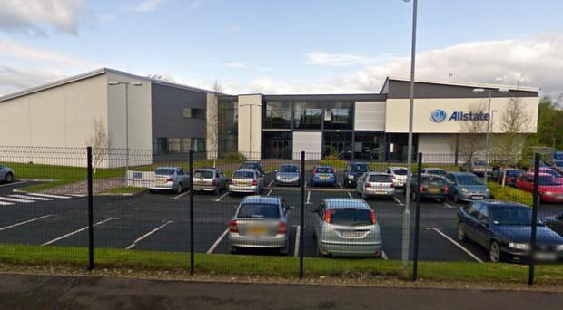 Allstate is hoping to extend and revamp its Strabane offices as the company expands its local workforce