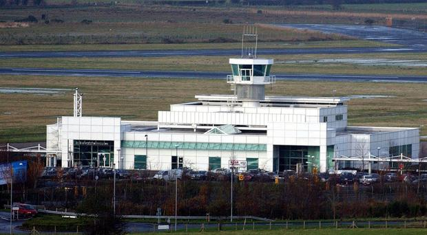 City of Derry Airport has suffered as a result of air passenger duty and the competition airports in Belfast provide