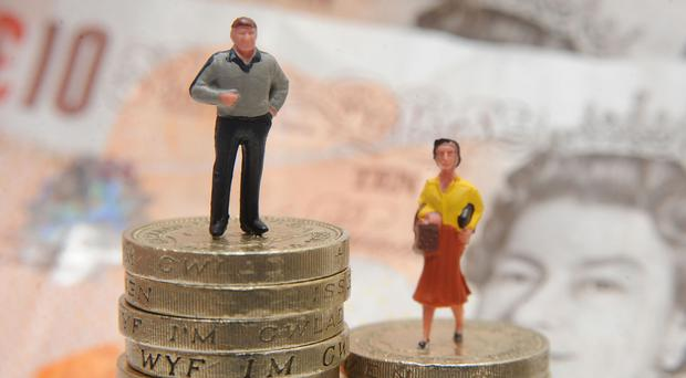 Men have more disposable income at the end of the month than women, according to the survey